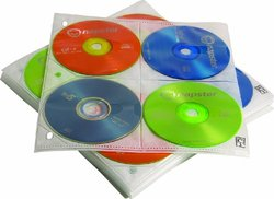 Case Logic 200 Disc Capacity CD ProSleeve Pages