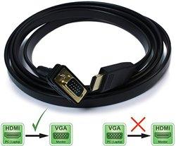 Plugable Active HDMI to VGA 6ft Converter Cable