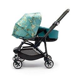 Bugaboo Bee3 Bassinet Tailored Fabric Set - Van Gogh & Petrol Blue