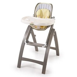 Summer Infant Bentwood Highchair, Chevron Leaf