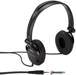 Sony MDR-V150 Monitor Series Headphones - Black