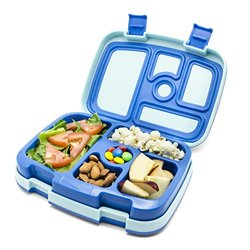 Bentgo Leak-Proof Bento Styled Children's Lunch Box - Blue
