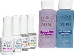 Gelish Nail Polish Complete Starter Kit Protection from Harmful UV Rays