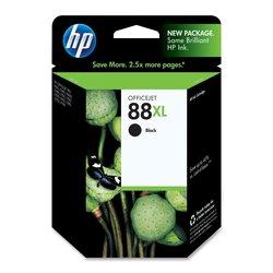HP 88XL High Yield Original Ink Cartridge - Black (C9396AN)