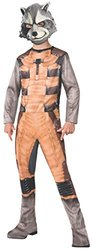 Rubies Guardians of The Galaxy Rocket Raccoon Costume, Child Medium