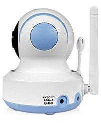 Foscam FBM3502 Digital Video Baby Monitor, Auto Motion Tracking, White/Blue