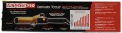 """BaByliss Pro Ceramic Tools CT155S 1-1/2"""" Dual Voltage Professional Ceramic Spring Curling Iron"""