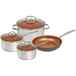 NuWave 7-Piece Nonstick Aluminum Cookware Set