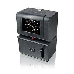Lathem Heavy-Duty Manual Time Recorder, Cool Gray 2121-PB