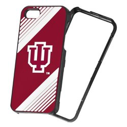 Forever Collectibles NCAA Piece Snap-On iPhone 5/5S Polycarbonate Case - Retail Packaging - Indiana Hoosiers 2