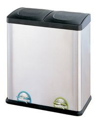Neu Home Organize It All Step-On 60-Liter 16-Gallon Recycle Bin 4904