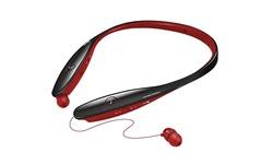LG Tone Infinim Bluetooth Harmon Stereo Headset - Black/Red (HBS-900)