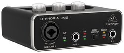 Behringer UPHORIA UM2 Audiophile 2x2 USB Audio Interface