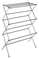 """Deluxe Rack Collection 29.5"""" X 41.75"""" Chrome Drying Rack"""