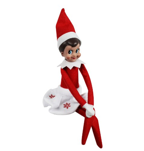 The Elf On The Shelf Girl Elf Edition With North Pole Blue Eyed Girl Elf And Girl Character Themed Storybook With Snowflake Skirt Check Back Soon