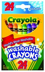 Crayola Washable Crayons - 24 count (52-6924) 423702