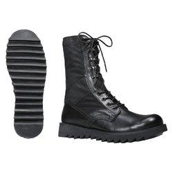 Wave Sole Jungle Boots - Black - Size: 10