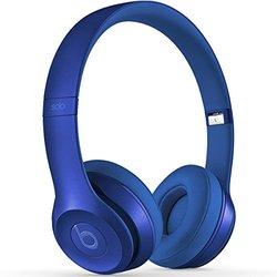 Beats by Dr. Dre Solo 2 Wired On-Ear Headphones - Blue Sapphire (MJW32AMA)