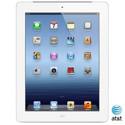 "Apple iPad 3 A1430 9.7"" Tablet 16GB Wi-Fi + Cellular - Silver (A1430)"