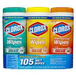 Clorox 3x35ct Wipes Dis Bts