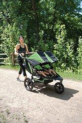 BOB Revolution Flex Duallie Stroller, Wilderness/Black