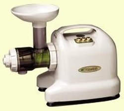 Samson Brands 6-1 Single Auger Wheat Grass & Multi Purpose Juicer - Ivory