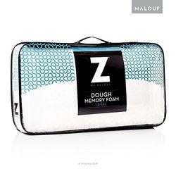 MALOUF Z Dough Memory Foam Liquid Z-Gel Pillow w/ Velour Cover - Standard