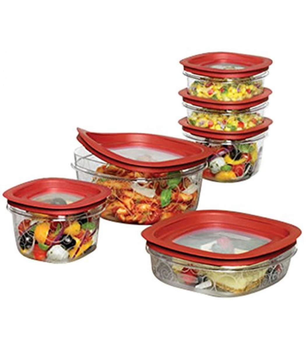 Rubbermaid  Piece New Premier Food Storage Container