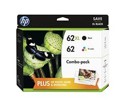 HP High Yield Black and Standard Tricolor Ink Cartridges Combo Pack