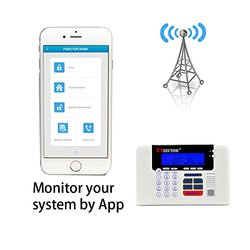 PiSector 4G Cellular GSM Wireless Security Alarm System Support 2G/3G/4G