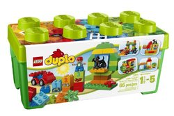 LEGO 65-Piece Kids Duplo All-In-One-Box-Of-Fun Building Set