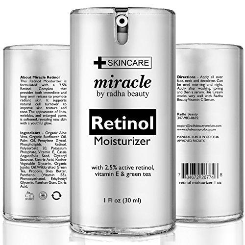 Radha Beauty Miracle Retinol Moisturizer cream for face ...