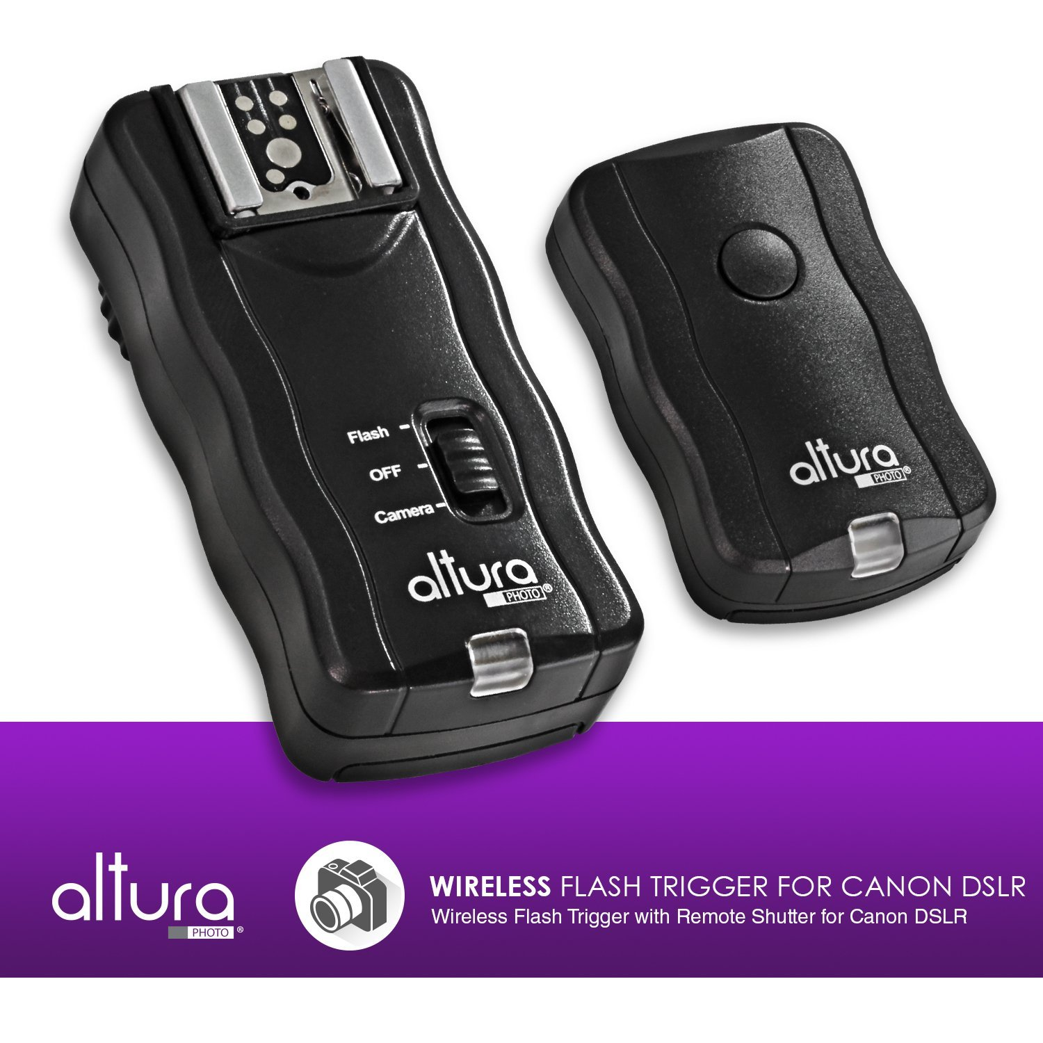 2 Trigger Pack Altura Photo Wireless Flash Trigger With Remote