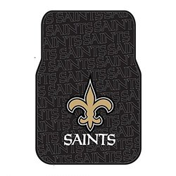 NFL New Orleans Saints Front Floor Mat