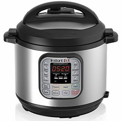 Instant Pot 7-in-1 Pressure Cooker 6 qt - Stainless Steel
