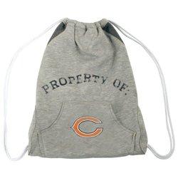 NFL Chicago Bears Hoodie Cinch Bag - Grey