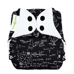 Bumgenius Freetime All in One Cloth Diaper - Black