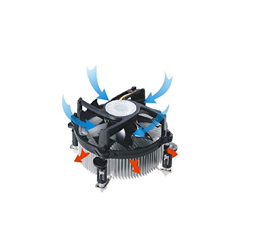 Cooler Master X Dream 4 CPU Fan For Intel LGA775 CPU (RR-LEE