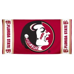 NCAA Florida State Seminoles 30 by 60 Fiber Reactive Beach Towel
