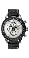 Paul Perret Men's Sorel Watch - Black Band/Silver Dial (62625424)