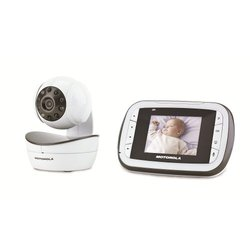 Motorola Remote Wireless Video Baby Monitor - MBP41 screenup