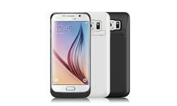 iPM Samsung Galaxy S6 Edge 3,800mAh Power Charger Case - White