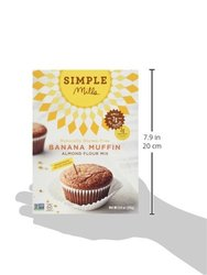 Simple Mills Banana Muffin Mix Pack of 4 9.0Oz