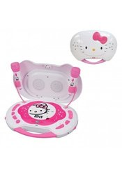 Hello Kitty CD Karaoke System/CD Player with AC Adapter ...
