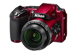 Nikon COOLPIX L840 16MP Digital Camera - 38x Optical Zoom - Red