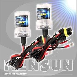 Kensun HID Xenon All Bulb Sizes/Colors Conversion Kit - 6000k - 9006 (HB4)