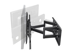 "Monoprice Full-Motion Wall Mount Bracket for 32""- 60"" Flat Screen TV (LCD, Plasma, LED) - VESA Mount"