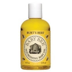 Burt's Bees Baby Bee Nourishing Baby Oil, 4 Fluid Ounces Pack of 2