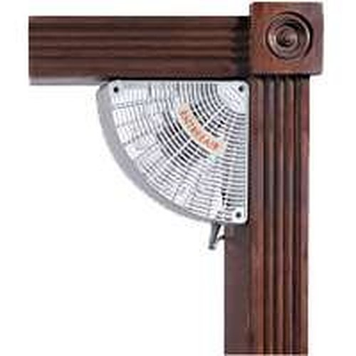 Suncourt RR100 EntreeAir 5 in. Single Speed Door Frame Fan - White ...