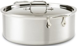 All-Clad Master Chef 2 Stainless Steel Tri-Ply Bonded Stockpot